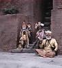 Monks (Hindu), Pashupatinath Temple, Kathmandu, Nepal (Bronica 645)