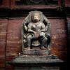Narsingha disemboweling a demon, Sundari Chowk, Royal Palace, Patan, Durbar square