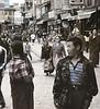 Crowd, Boudhanath Temple, Kathmandu, Nepal (Bronica 645)