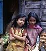 Three Girls, Bhaktapur, Nepal (Bronica 645)