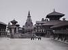 Plaza I, Bhaktapur, Nepal (Bronica 645)