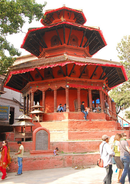 Another temple in Kathmandu Durbar Square