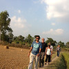 Walk through the Rice fields
