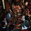nepali dinner at dwarika hotel, Kathmandu, Nepal