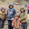Kids Following the Volunteers