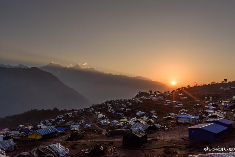 Sunrise Over Laprak