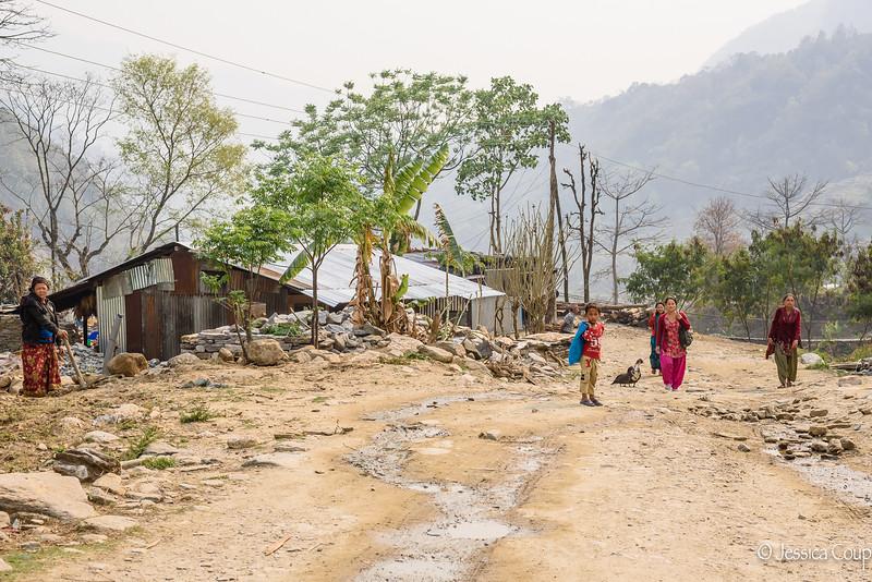 A Road Leading to Laprak