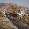 Trail from Barpak to Laprak