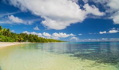 Lagoon side of Eneko isalnd.