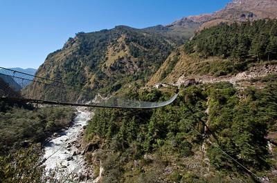 Bridge near Ghasa, Nepal