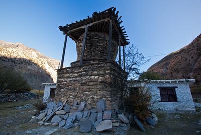 Chorten—Lower Mustang Valley, Nepal