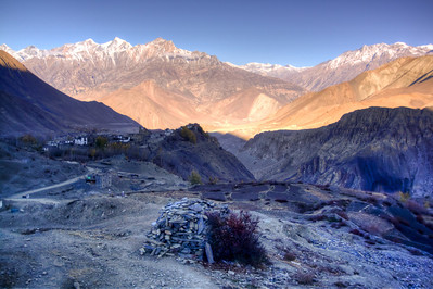 Leaving Muktinath, Nepal