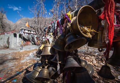 Bells—Chumig Gyatsa Temple, Muktinath, Nepal.