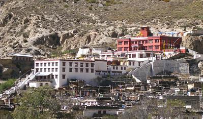 Buddhist monastery, Marpha, Nepal