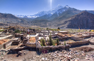 Leaving Jomsom, Nepal