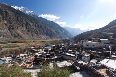 Overlooking Marpha, Nepal