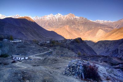 Leaving Muktinath, Nepal