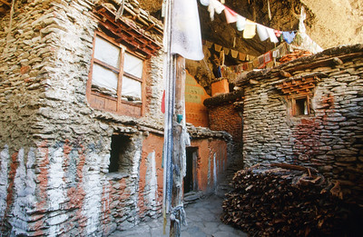 Ryangbyung - cave monestary, entrance
