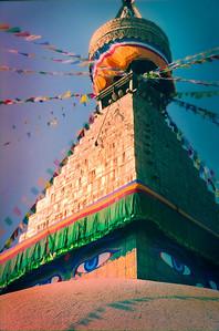 Boudhanath Monastery - Kathmandu, Nepal 2002