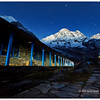 Annapurna Base Camp in the pre-dawn