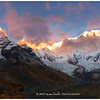 Dawn over the Annapurna Sanctuary from Annapurna Base Camp