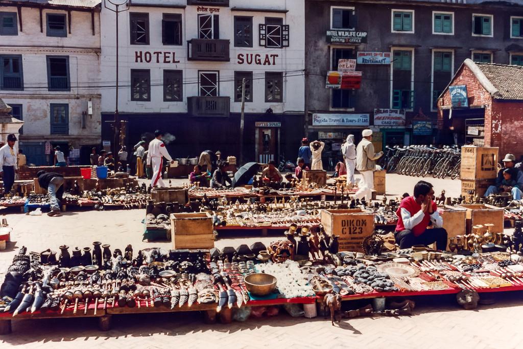 Basantapur Durbar Square Markets, Kathmandu