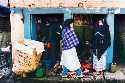 Thamel Butcher Shop, Kathmandu