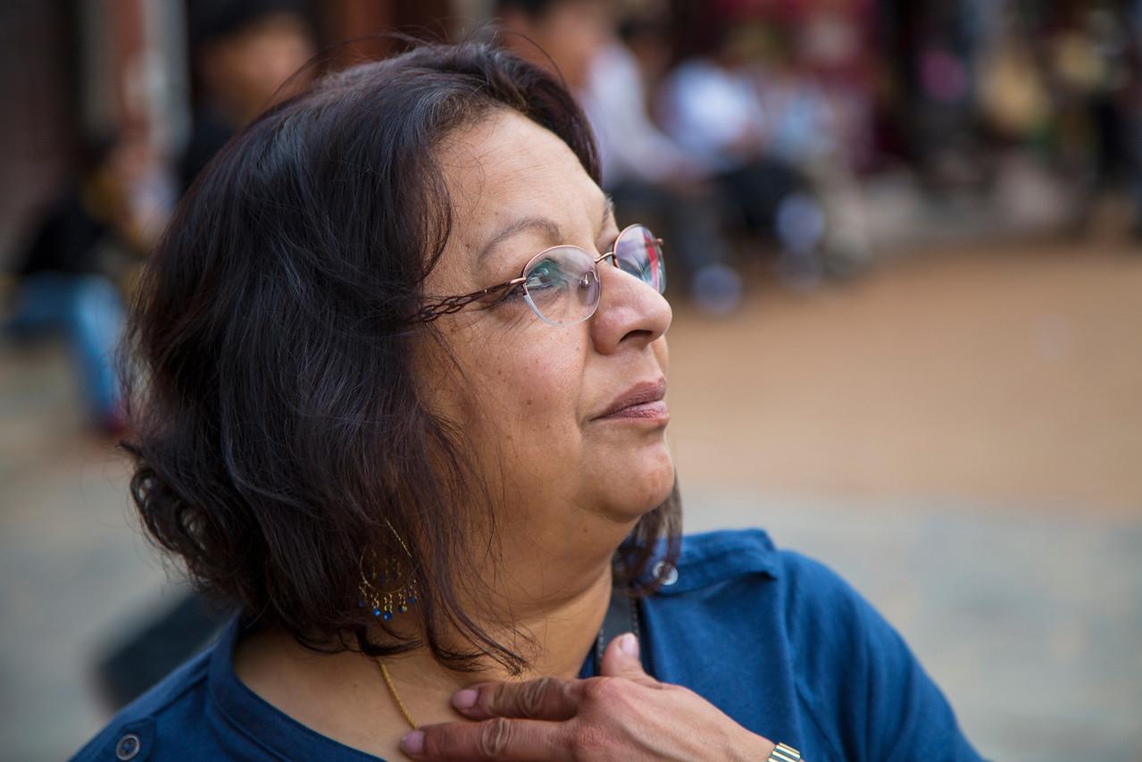 Shrilekha Champaneri at Boudinha.