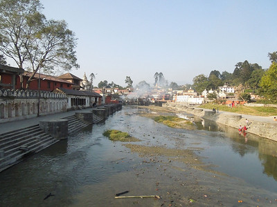 Pashupatinath river