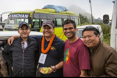 Hitash Karki, Suraj Thapa, Bikash Gupta, Sabin Gauchan.