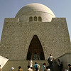 Mausoleum for Jinnah, the founder of Pakistan
