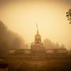 Buddha statue Shreenagar Hill Tansen Palpa
