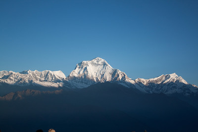 Sunrise on Dhaulagiri — Poon Hill, Nepal