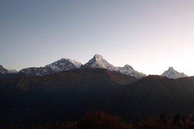 Sunrise on the Annapurna Range — Poon Hill, Nepal