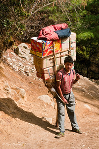 For Sherpas nothing is too heavy