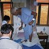 This is how Chura examines a man post op hernia repair.