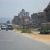 The outskirts of Kathmandu.