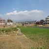 Fields outside of Kathmandu.