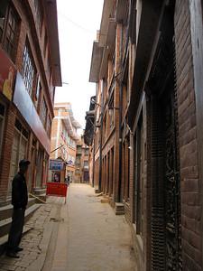 An alley in Bhaktapur