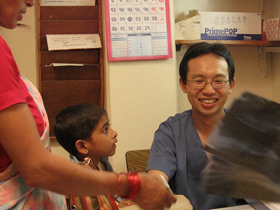 Dr. Kim signed up as a general surgeon for 5 years. He decided to be a missionary surgeon in high school.
