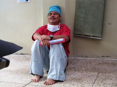 Anil, one of the anesthetists.