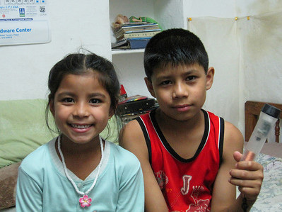 Acancha and Sita, kids of Deepak and Suzanna.
