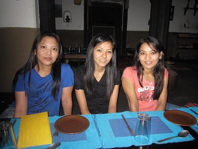 Usha, Dalucky, and Bhawani.
