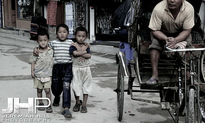"""Alive And Well On The Streets Of Kathmandu"", Nepal, 2007 Print IND31014-062"
