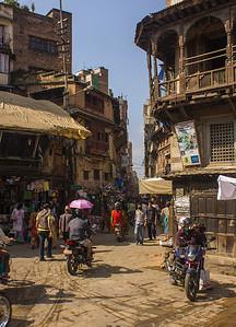 Typical street, Kathmandu