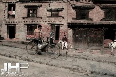 """""""Crookt"""", Baktaphur, Nepal, 2007 Print IND31024-041"""