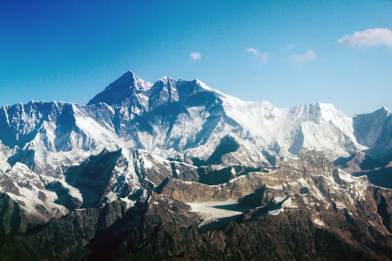 Mt Everest, Himalayas, Nepal
