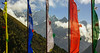 Prayer Flags, Himalaya, Nepal.