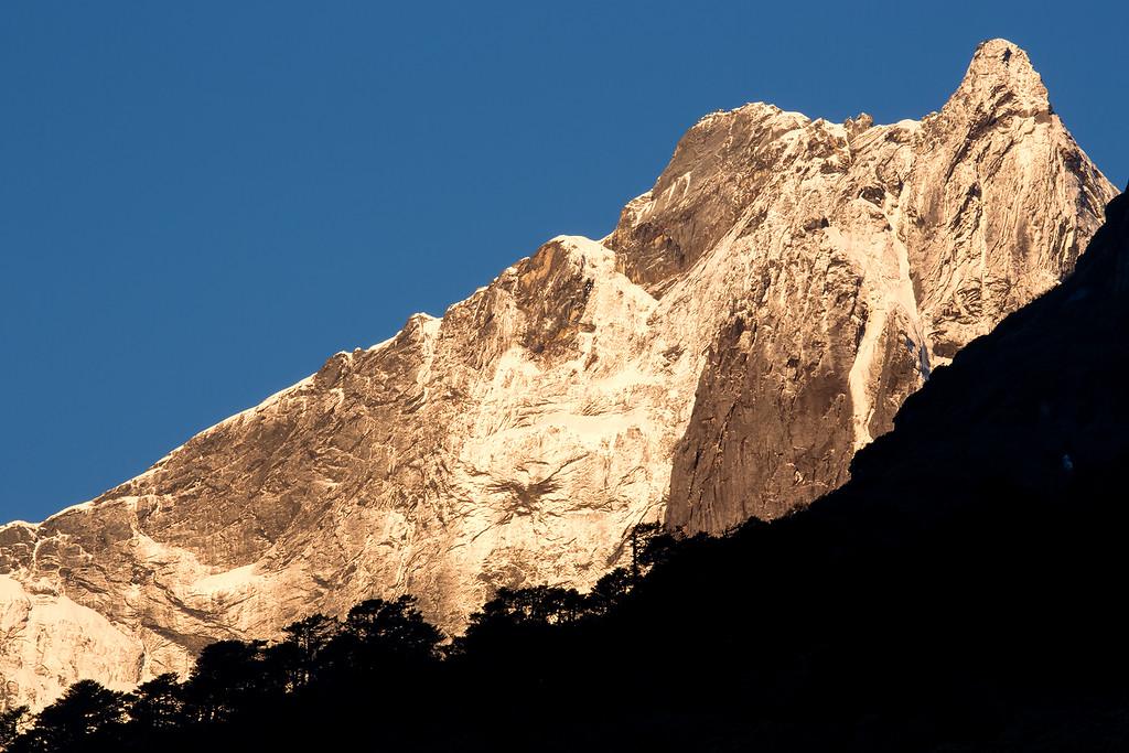 Mountain south-west of Yangle Kharka