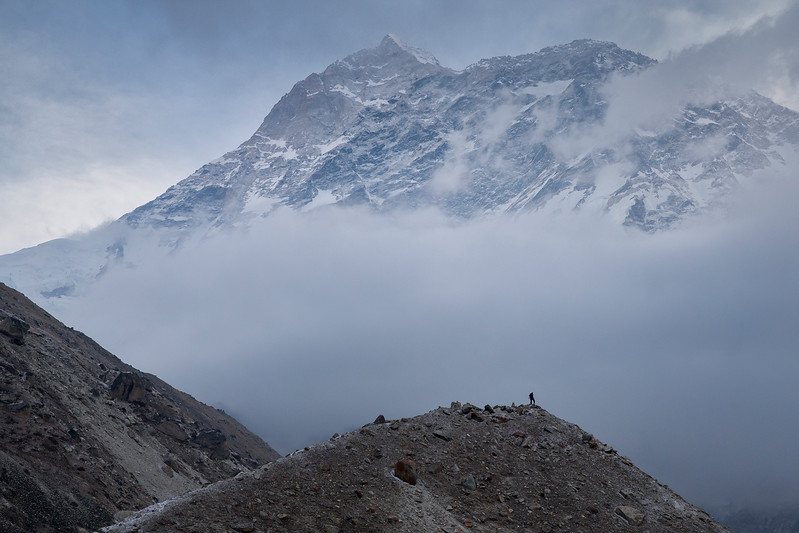 View of Makalu Mtn.
